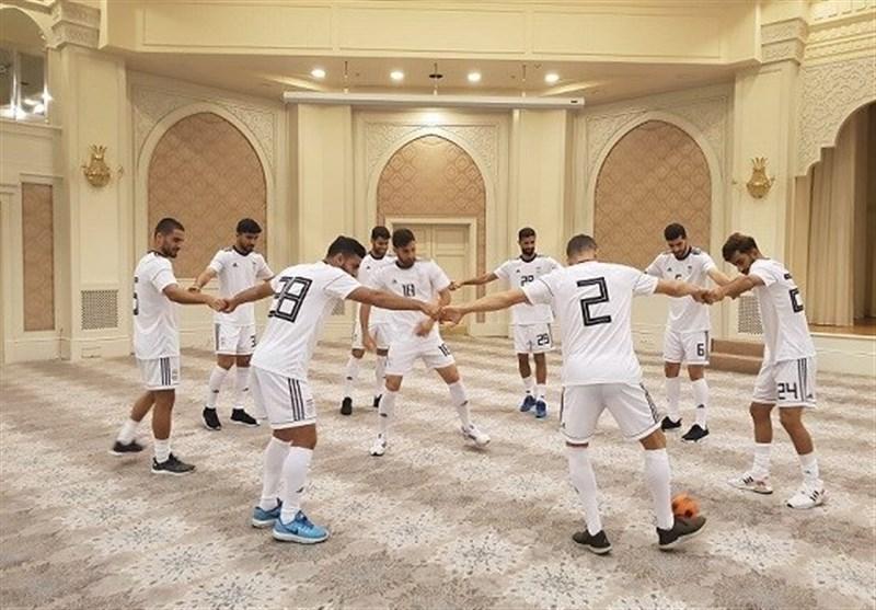 برگزاری تمرین ریکاوری تیم ملی فوتبال در ازبکستان