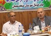 خوزستان| جلسه هم اندیشی نماینده مسجدسلیمان با اعضای هیئت فوتبال برگزار شد