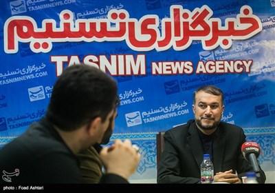 عبداللهیان یتحدث لتسنیم عن وثیقة مهمة تثبت دور السعودیة فی الهجوم على سفارتها فی طهران