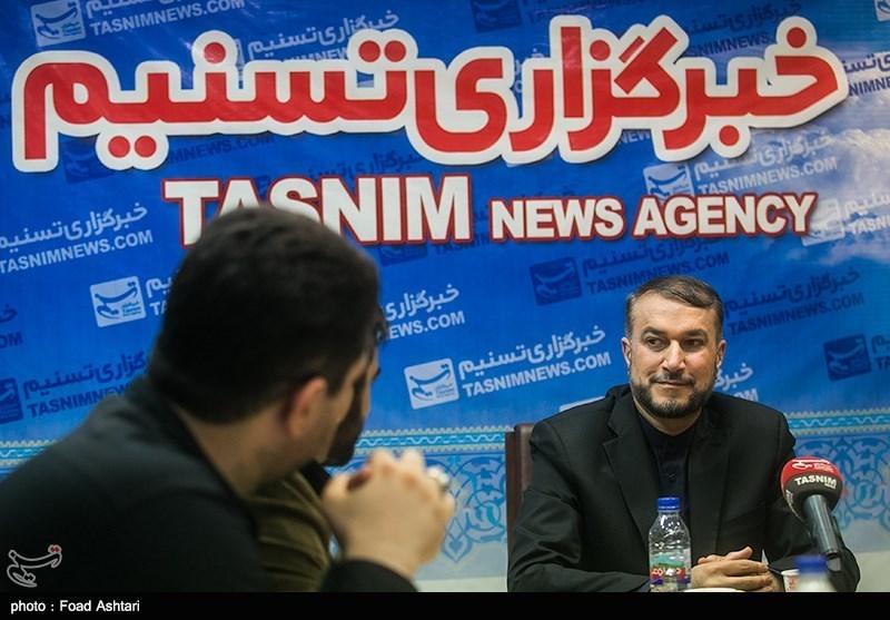 عبداللهیان یتحدث لتسنیم عن وثیقة مهمة تثبت دور السعودیة فی الهجوم على سفارتها بطهران
