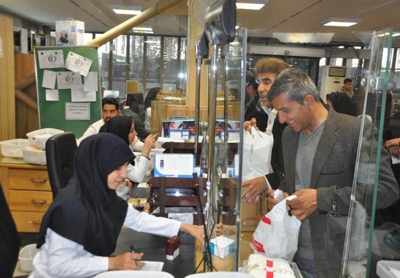 افزایش 2 برابری مراجعان به داروخانه هلال احمر اصفهان