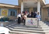 """جهادگرانی که در شهرکرد به """"شهید حججی"""" اقتدا میکنند"""