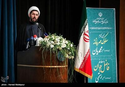 سخنرانی حجتالاسلام مصطفی رستمی رئیس جدید نهاد نمایندگی مقام معظم رهبری