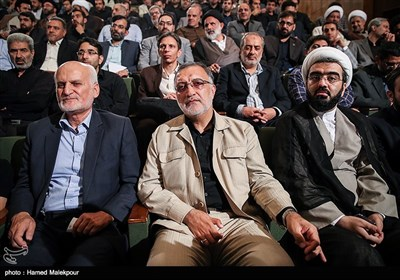 علیرضا زاکانی در مراسم تودیع و معارفه رئیس نهاد نمایندگی مقام معظم رهبری در دانشگاهها