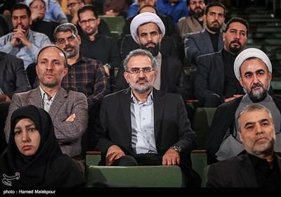سیدمحمد حسینی در مراسم تودیع و معارفه رئیس نهاد نمایندگی مقام معظم رهبری در دانشگاهها