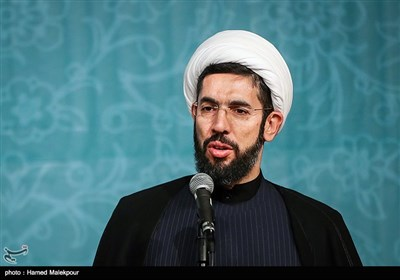سخنرانی حجتالاسلام مصطفی رستمی رئیس جدید نهاد نمایندگی مقام معظم رهبری در دانشگاهها