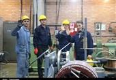 قزوین|کارگران بسیجی در رزمایش «شیفت ایثار» شرکت کردند