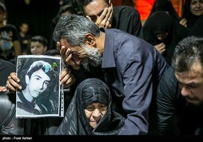 وداع با پیکرمطهر شهید ابولفضل کلهر