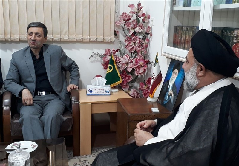رئیس کمیته امداد با نماینده ولیفقیه در استان لرستان دیدار کرد