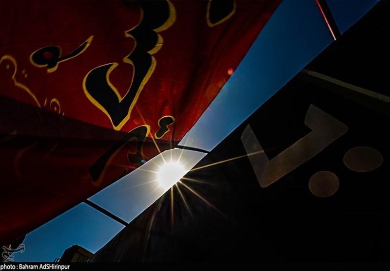 اردبیل| رنگ عزا بر تن دارالارشاد به روایت تصویر