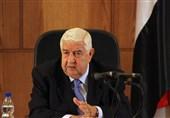 تاکید المعلم بر حمایت از حق فلسطینیان در تعیین سرنوشت