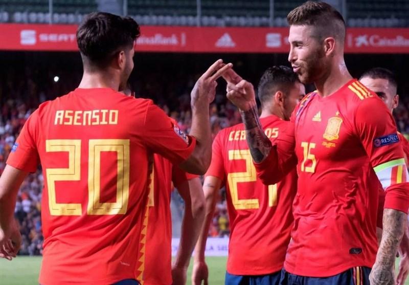 لیگ ملتهای اروپا| اسپانیا با 6 گل نایب قهرمان جهان را تحقیر کرد