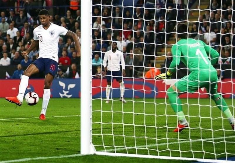 فوتبال جهان| برتری انگلیس مقابل سوئیس در بازی دوستانه