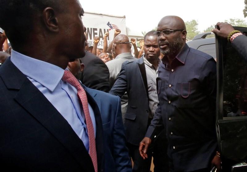 فوتبال جهان| بازی رئیسجمهور لیبریا در ترکیب تیم ملی کشورش