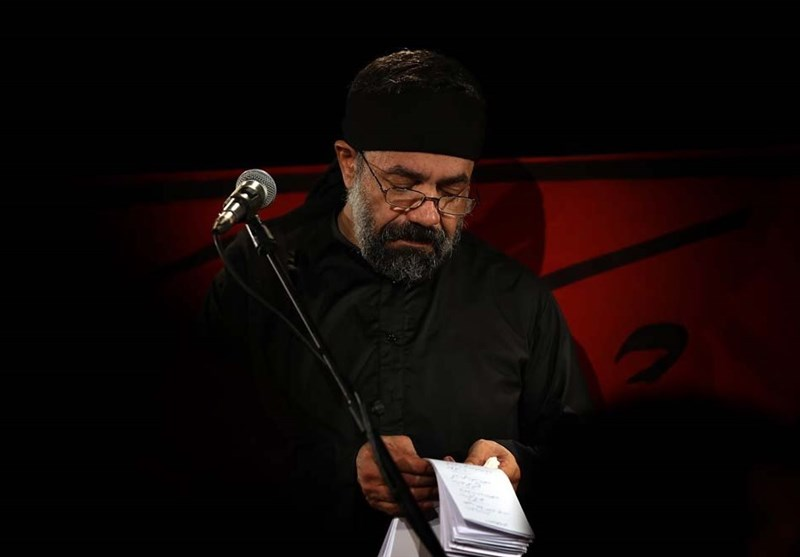 آوینیخوانی محمود کریمی در شب اول محرم + فیلم