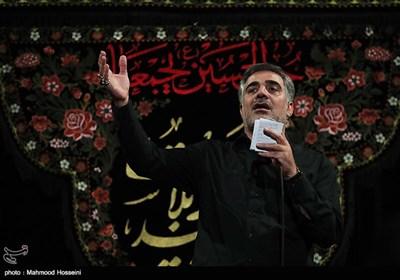 مداحی ابوافضل بختیاری در مراسم عزاداری شب دوم محرم در مسجد ارک تهران