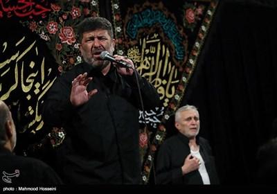 مداحی سعید حدادیان در مراسم عزاداری شب دوم محرم در مسجد ارک تهران