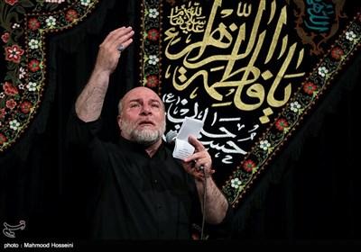 مداحی حسین سازور در مراسم عزاداری شب دوم محرم در مسجد ارک تهران
