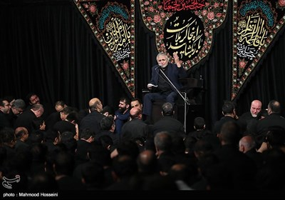 مداحی حاج منصور ارضی در مراسم عزاداری شب دوم محرم در مسجد ارک تهران