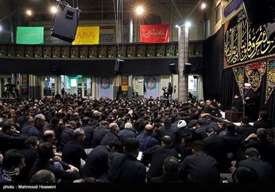 مراسم عزاداری شب دوم محرم در مسجد ارک تهران