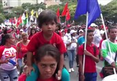 Thousands of Venezuelans Stage Rally against US Imperialism in Caracas (+Video)
