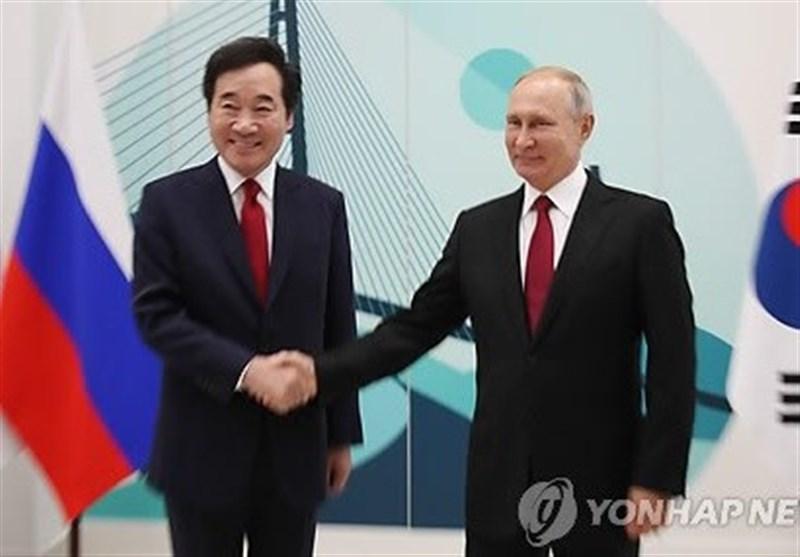 """لبخند پوتین به ایده """"9 پل"""" کره جنوبی"""