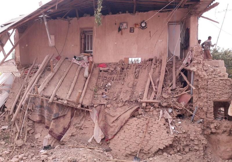 بالگرد هلالاحمر در آمادهباش برای امدادرسانی حادثه آوار روستای سیبچال آزادشهر+تصاویر