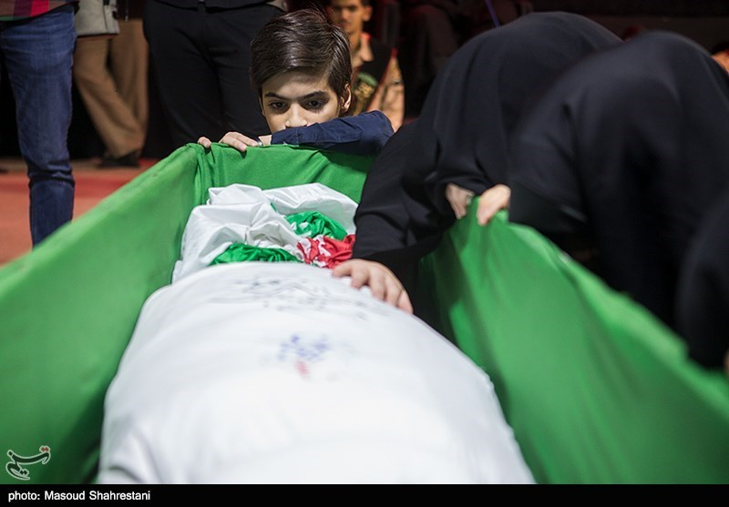 دیدار با شهید تازه تفحص شده، «رحیم رجبی» در معراج شهدا+تصاویر