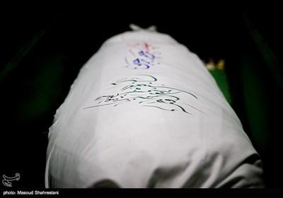 وداع با پیکرمطهر شهید رحیم رجبی