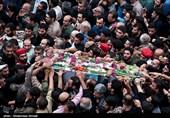 تشییع پیکر مطهر 135 شهید گمنام در تهران آغاز شد