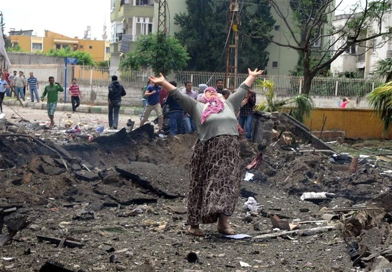 عامل انفجار ریحانلی ترکیه در سوریه دستگیر شد+عکس