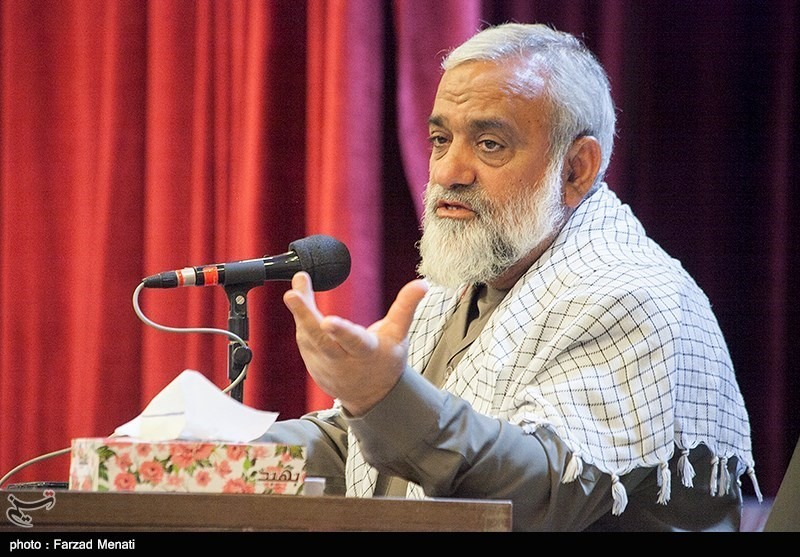 سردار نقدی در کرمانشاه: انقلاب اسلامی با قدرت تمام درحال پیشروی است/ شکستهای زنجیرهای دشمنان در مقابل ایران