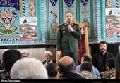 دیدار فرمانده سپاه عاشورای آذربایجان شرقی با مردم منطقه شلهبران اهر 