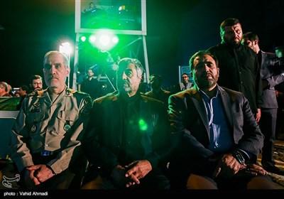 مراسم وداع با پیکر 135 شهید گمنام دوران دفاع مقدس