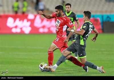 محمد انصاری بازیکن تیم فوتبال پرسپولیس