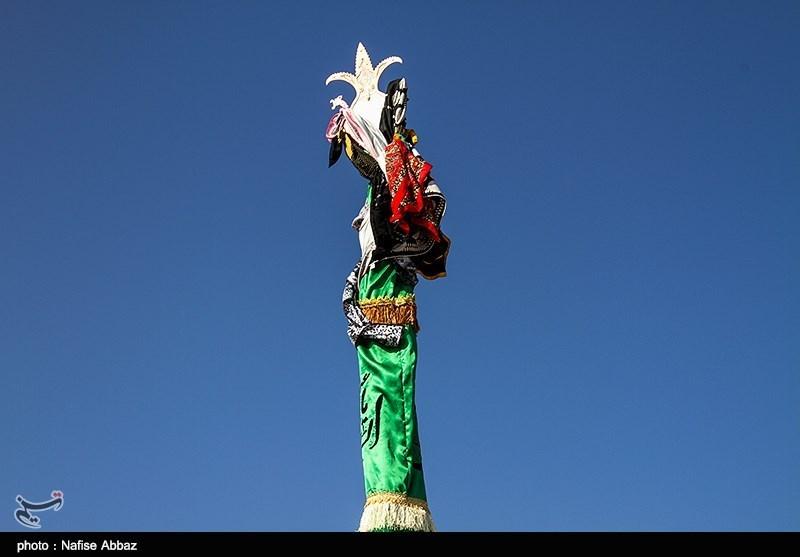 امامزاده «سلطان سبزپوش» میزبان عزاداران حسینی