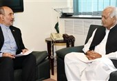 ایرانی سفیرکی وزیرپیٹرولیم سے ملاقات، پاک ایران گیس پائپ لائن جلدمکمل کرنےکاعزم