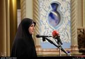شعرخوانی عاشورایی نفیسه سادات موسوی در بیستمین محفل شعر «قرار» + فیلم