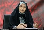 شعرخوانی عاشورایی فضهسادات حسینی در بیستمین محفل شعر «قرار»+فیلم