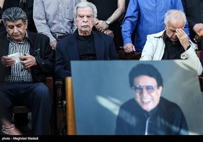 ابوالحسن تهامی نژاد، منوچهر اسماعیلی و منوچهر والی زاده پیشکسوتان دوبله سینما و تلویزیون