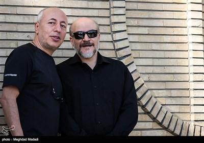شروین قطعه ای و بیژن علیمحمدی دوبلورهای تلویزیون