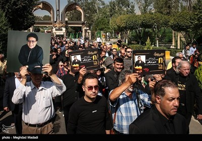تشییع پیکر مرحوم حسین عرفانی دوبلور پیشکسوت