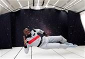 تمرین اوسین بولت همانند یک فضانورد + تصاویر