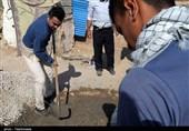 اردوی جهادی قهرمانان ورزشکار خراسان شمالی به روایت تصویر