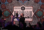 عزاداری حضرت سیدالشهدا (ع) در هیئت ابوالفضلیهای کاشان + تصاویر