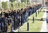 تجمع بزرگ هیئتهای دانشآموزی کرمان به روایت تصویر