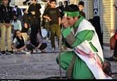 مجلس تعزیه شهادت علیاکبر(ع) در گلزار شهدای کرمان به روایت تصویر