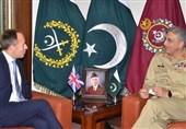 برطانوی سفیرکی پاک فوج کے سربراہ سے ملاقات۔ اہم امور پر بات چیت