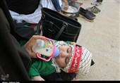 همایش شیرخوارگان حسینی در 365 نقطه استان قزوین برگزار شد
