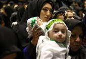 طنین لالایی مادران اردبیلی به یاد طفل 6 ماهه کربلا+فیلم